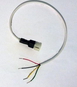Motor cable dongle